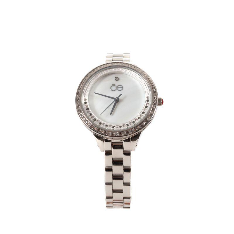 Reloj-Acero-Inoxidable-y-Acabado-Nacar-en-Color-Plata- -Cloe