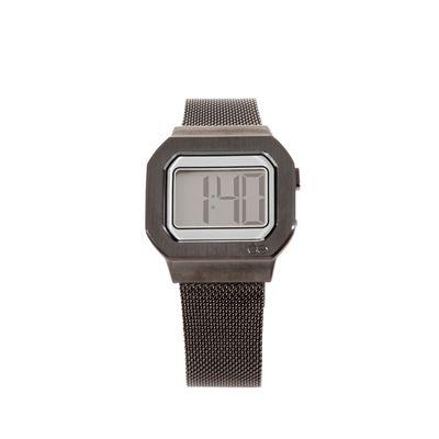 Reloj Digital de Acero Inoxidable en Color Inox