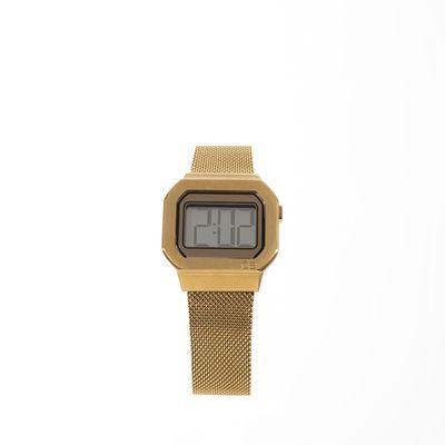 Reloj Digital de Acero Inoxidable en Color Oro