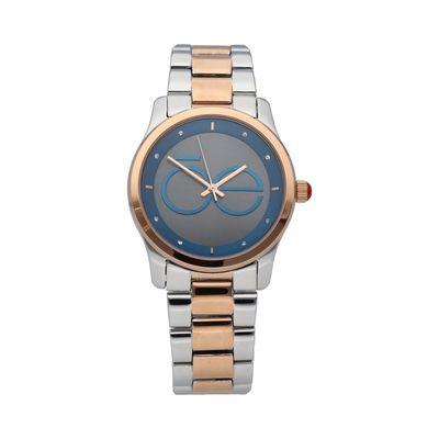Reloj con Contraste de Colores en Color Azul