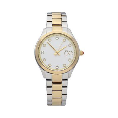 Reloj Detalle Pedrería en Color Plata