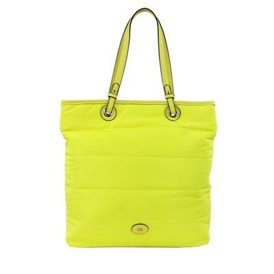 Bolsa Tote con Asas Intercambiables en Color Amarillo