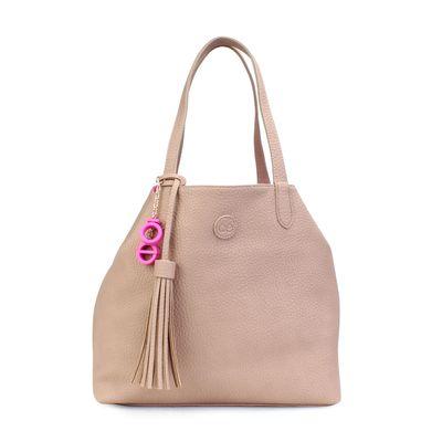 Bolsa Tote 3 en 1 en Color Rosa