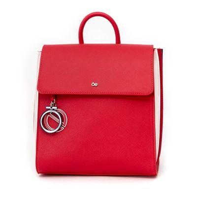Mochila Acordeón en Color Rojo