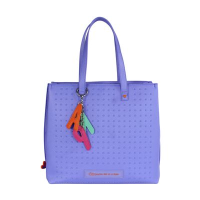 Bolsa Tote Cloe by Agatha Ruiz de la Prada con Estoperoles en Color Morado