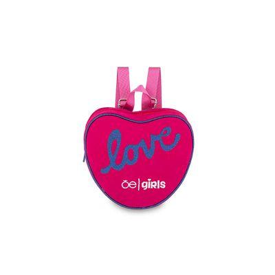 Mochila Cloe Girls de Corazón en Color Magenta