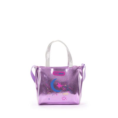 Bolsa Satchel Cloe Girls Luna en Color Lila