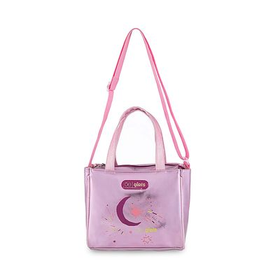 Bolsa Satchel Cloe Girls Luna en Color Rosa