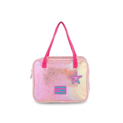 Bolsa Satchel Cloe Girls Glitter en Color Rosa