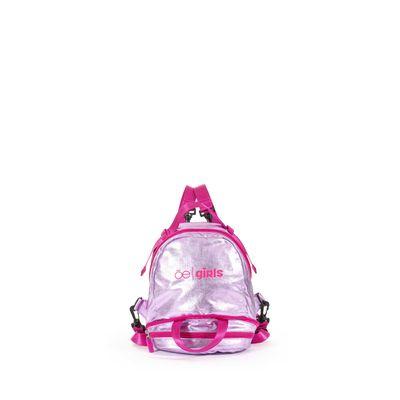Mochila Cloe Girls 2 en 1 con Cangurera en Color Rosa