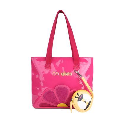 Bolsa Tote Cloe Girls con Monedero desprendible en Color Rosa