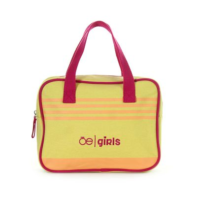 Bolsa Satchel Cloe Girls con Bordado en Color Amarillo