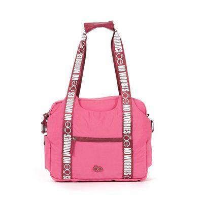 Pañalera Mom & Baby con Cambiador Incluido en Color Rosa