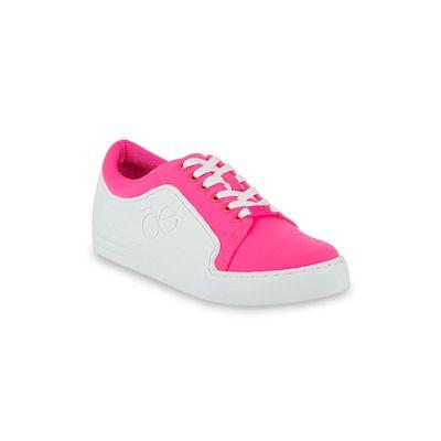 Tenis Neopreno y Rubber en Color Rosa