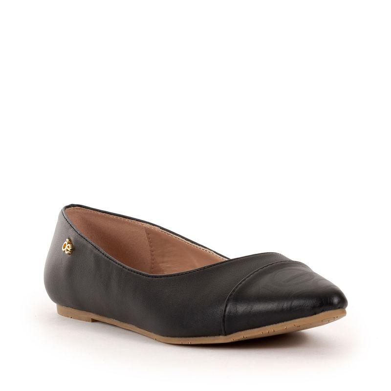 Ballerina-con-Punta-Estampada-y-Comfy-Step-en-Color-Negro-|-Cloe