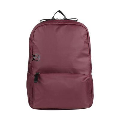 """Mochila Porta Laptop 16"""" con Cierres a Prueba de Agua en Color Tinto"""