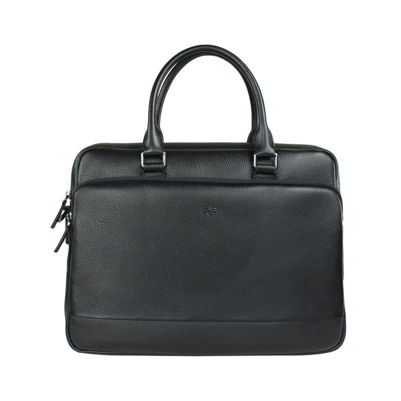 Maletin-Porta-Laptop-14--de-Piel-en-Color-Negro-|-Cloe