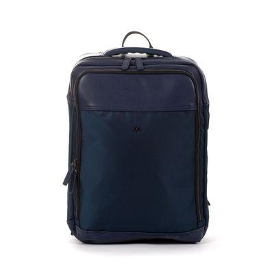 "Mochila Uomo Porta Laptop 15"" con Bolsillos en Color Marino"
