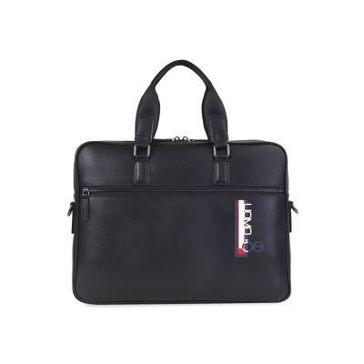 "Porta Laptop 14"" Uomo de Piel en Color Negro"
