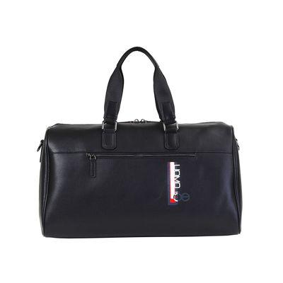 Maleta Duffle Bag Uomo de Piel en Color Negro