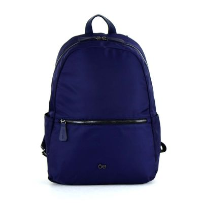"[SECOND 30OFF] Mochila Porta Laptop 13"" de Nylon en Color Marino"