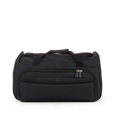 [SECOND 30OFF] Duffle Bag Suave Al Tacto en Color Negro