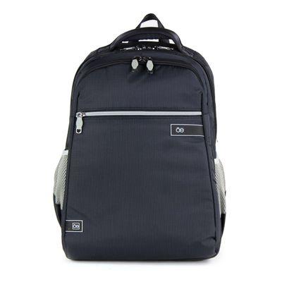 "Mochila Textil Porta Laptop 15"" en Color Negro"