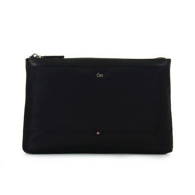 Porta Documento Textil Estructura Soft en Color Negro