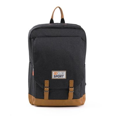 [SECOND 30OFF] Mochila Porta Laptop Sport con Múltiples Compartimentos en Color Negro
