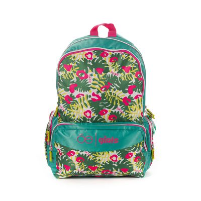 Mochila Cloe Girls con Estampado en Color Turquesa