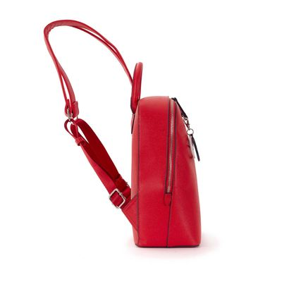 Mochila con Colgante en Color Rojo