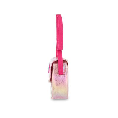 Bolsa Crossbody Cloe Girls Glitter en Color Rosa