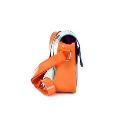 [SECOND 30OFF] Bolsa Crossbody Bloques de Color en Color Magenta