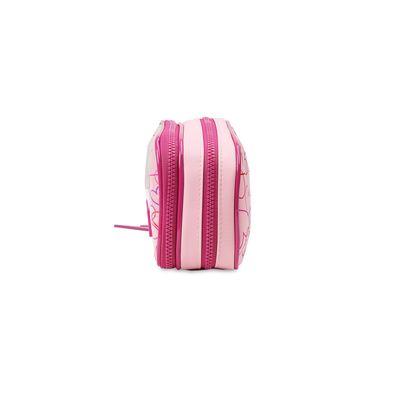 Cosmetiquera Cloe by Agatha Ruiz de la Prada con Corazones en Color Rosa