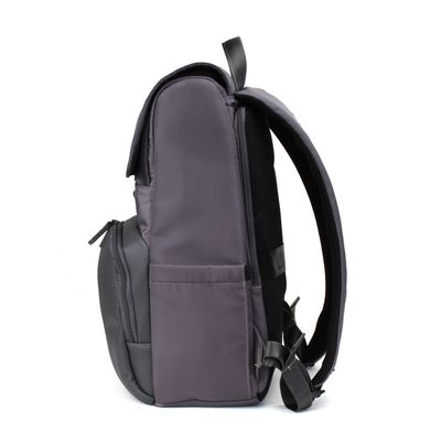 "Mochila Porta Laptop 14"" Uomo en Color Gris"