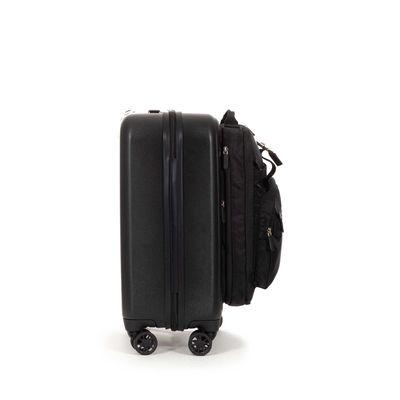 Maleta con Mochila Porta Laptop en Color Negro