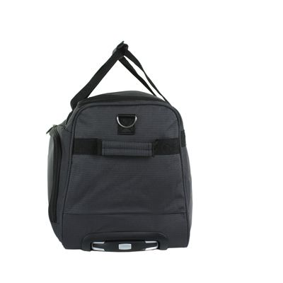 "Duffle Bag 13"" Logo en realce en Color Negro"