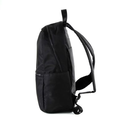 "[SECOND 30OFF] Mochila Porta Laptop 13"" de Nylon en Color Negro"