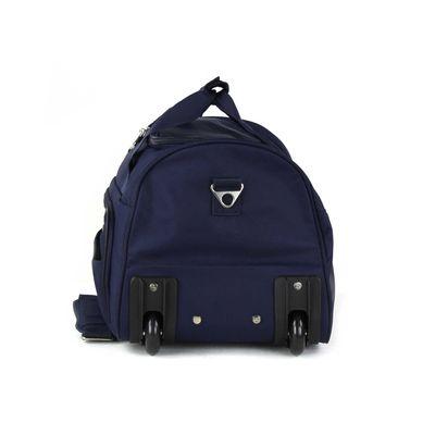 [SECOND 30OFF] Duffle Bag Suave Al Tacto en Color Marino