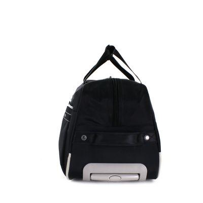[SECOND 30OFF] Duffle Bag con Ruedas en Color Negro