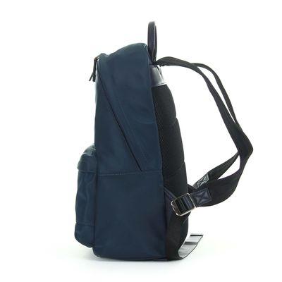 """Mochila Porta Laptop Material Textil 14"""" en Color Marino"""