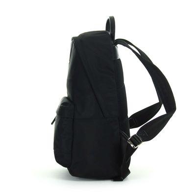 "Mochila Porta Laptop Material Textil 14"" en Color Negro"