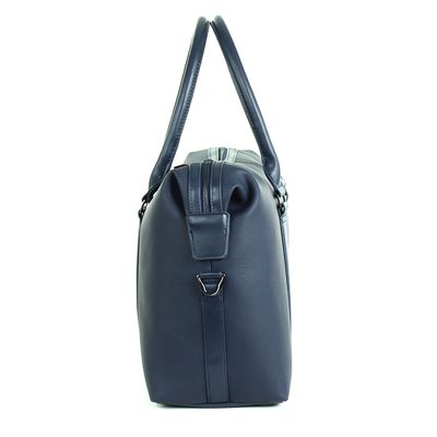 [SECOND 30OFF] Duffle Bag Porta Laptop en Color Marino