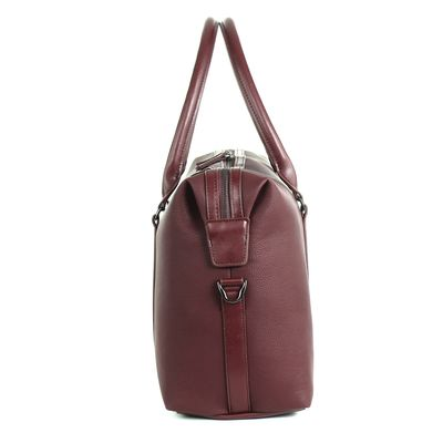 Duffle Bag Porta Laptop en Color Tinto
