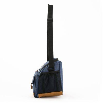 [SECOND 30OFF] Lonchera Sport Térmica con Bolsillos en Color Azul