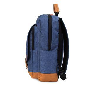 Mochila Porta Laptop Sport con Múltiples Compartimentos en Color Azul