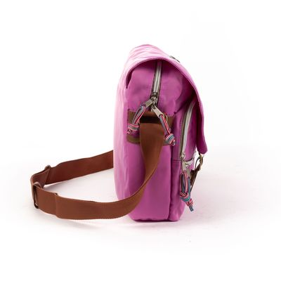 Mensajera Porta Laptop Cloe Girls en Color Morado