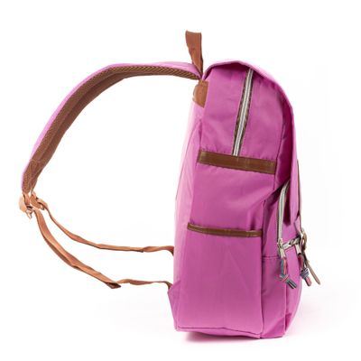 Mochila Porta Laptop Cloe Girls en Color Morado