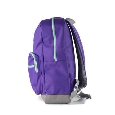 "Mochila Porta Laptop 14"" en Color Morado"