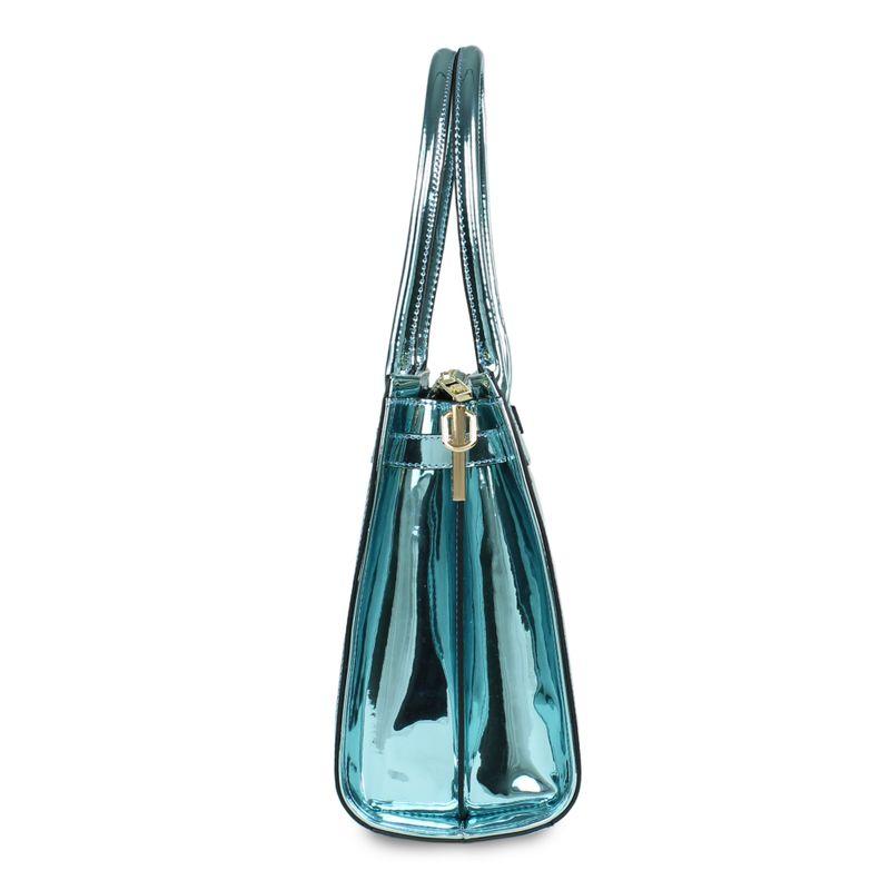 Bolsa-Satchel-Acabado-Espejo-en-Color-Azul-|-Cloe